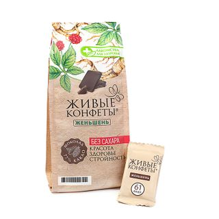 Bitter Chocolate with Ginseng, 100g