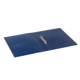 Folder on the 2 rings STAFF, 21 mm, blue, up to 170 sheets, 0.5 mm