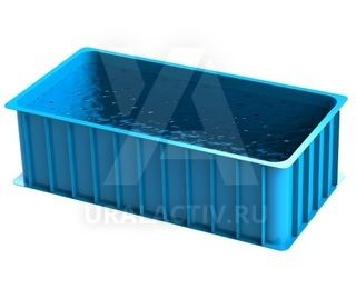 Polypropylene pool classic rectangular shape