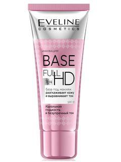 Razglazhivayut-leveling base under makeup series base full hd, Eveline, 30 ml