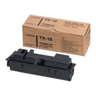 Toner cartridge KYOCERA (TK-18) FS1020 / 1018, original, yield 7200 pages.