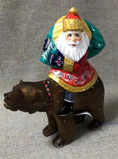Santa Claus bear gift, Bogorodskaya factory