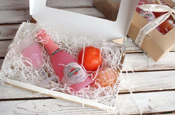 Handmade Martini Soap Gift Set