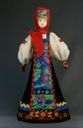 Doll gift porcelain. Tula of lips. Russia. Women's festive costume. Late 19th - early 20th century. - view 1