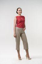 Women's clothing. TROUSERS - B032T (BEIGE) (RETAIL)
