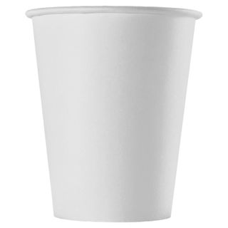 FORMATION / Disposable cups 150 ml, SET 100 pcs., Paper single-layer, white, cold / hot, for vending