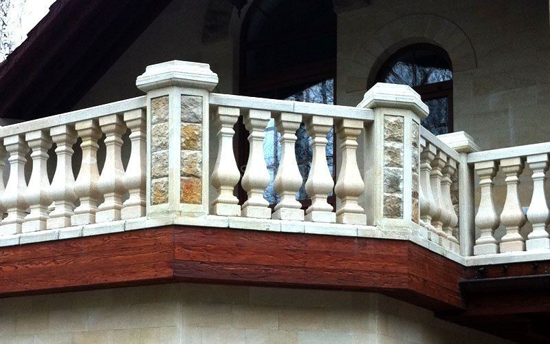 Stone for the facade, interior, landscape