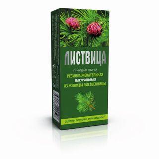 """Natural natural chewing gum """"Smolka larch"""" Listvytsa """""""