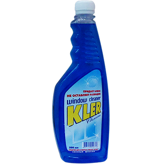 Windshield Wiper BLUE Blue Spare Packing 500ml