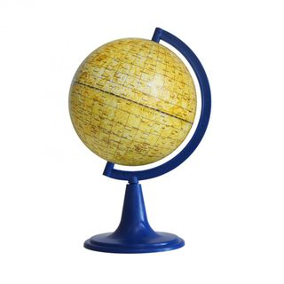 A globe of the moon with a diameter of 120 mm