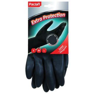 PACLAN / Neoprene household gloves, black
