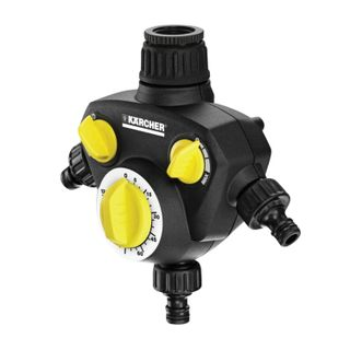 KARCHER (KERCHER) with timer, three-channel, water flow adjustment, plastic