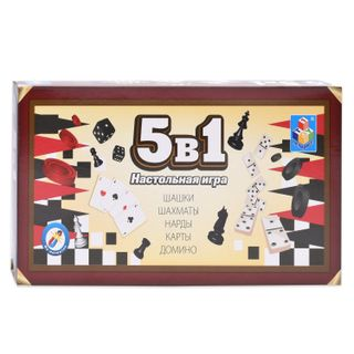 Game magnetic 5 in 1