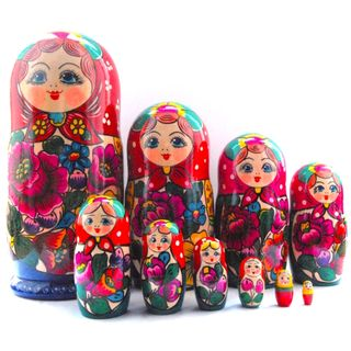Matryoshka 10 dolls Polkhovsky Maidan