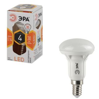 ERA / LED lamp 4 (30) W, E14 base, reflector, warm white light, 25000 h, LED smdR39-4w-827-E14ECO