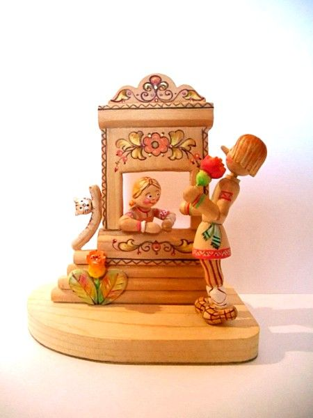 "Tver souvenirs / Fairy-tale characters ""Cavalier"""