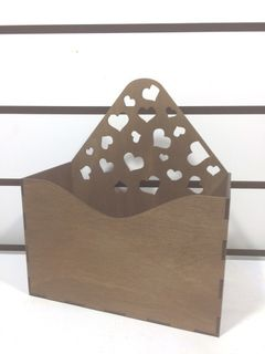 Wooden box for floristry and decor stores