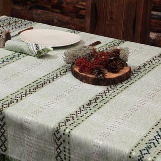 "Tablecloth ""Spring"" handmade homespun cloth"