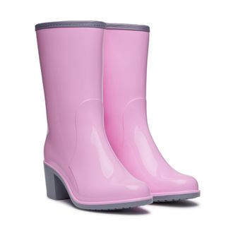 Women's boots are PVC. Model Grace 1301