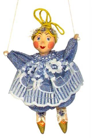 Doll gift. Clown Nezabudka