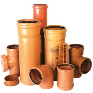 PVC pipes for external Sewerage systems