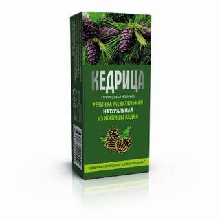 "Natural chewing gum ""Smoka cedar"" Kedritsa"""