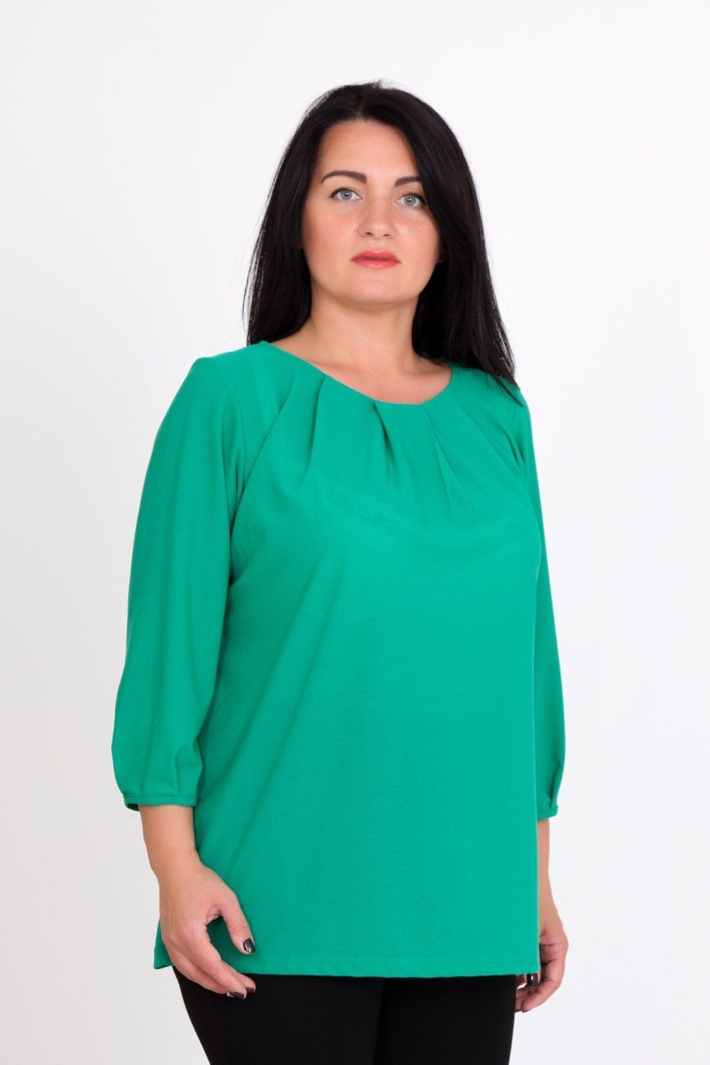 Lika Dress / Blouse Lime Art. 1003