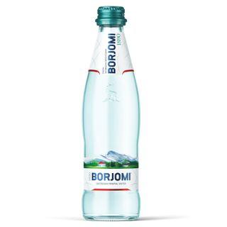 BORJOMI / Mineral carbonated water BORJOMI, 0.5 l, glass bottle