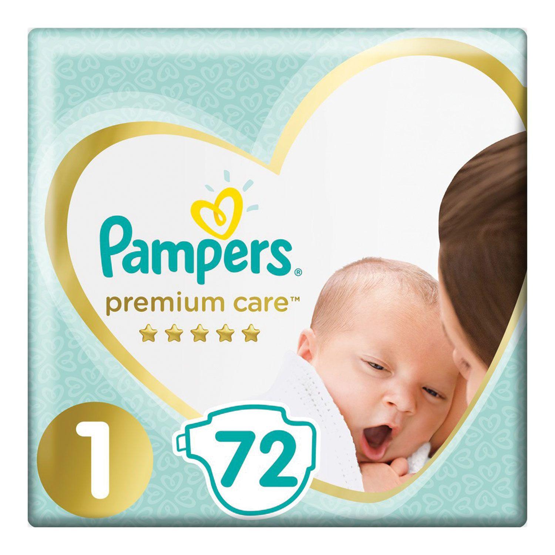 PAMPERS / Premium Care Newborn Diapers, size 1 (2-5 kg), 72 pcs.