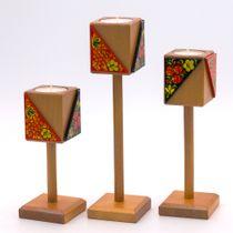 Craft / Set of candlesticks on a leg
