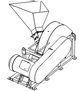 Disk chippers of two-stage grinding RB-700-LG-18,5 / RB-700-LG-22 and RB-1500-LG-30 / RB-1500-LG-45 - view 2