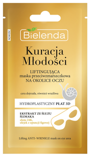 Firming mask against wrinkles under the eyes, BIELENDA YOUTH THERAPY, 10 g