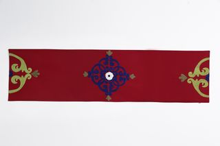LA`AL Textiles / Table runner - Bordeaux (b), bed covers (6pcs)