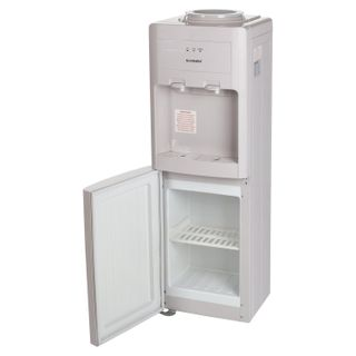 SONNEN FSC-02 water cooler, floor, WATER/ WARNING, cupboard, 2 taps, beige