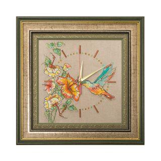 "Panel clock ""Hummingbird"""