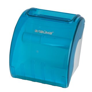 LIMA / Toilet roll dispenser in standard rolls, blue tinted
