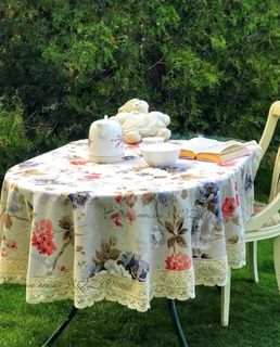 Giardini Lace Tablecloth