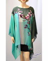 "Silk Sulfur with long sleeves ""SAKURA"""