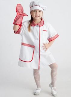 Cook - children's costume-profession