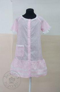 Bathrobe baby pink