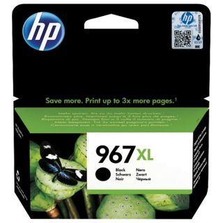 HP Inkjet Cartridge (3JA31AE) for HP OfficeJet Pro 9020/9023, # 967XL Black, 3,000 pages yield