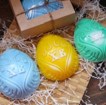 Handmade soap Easter Egg XB - mix of colors