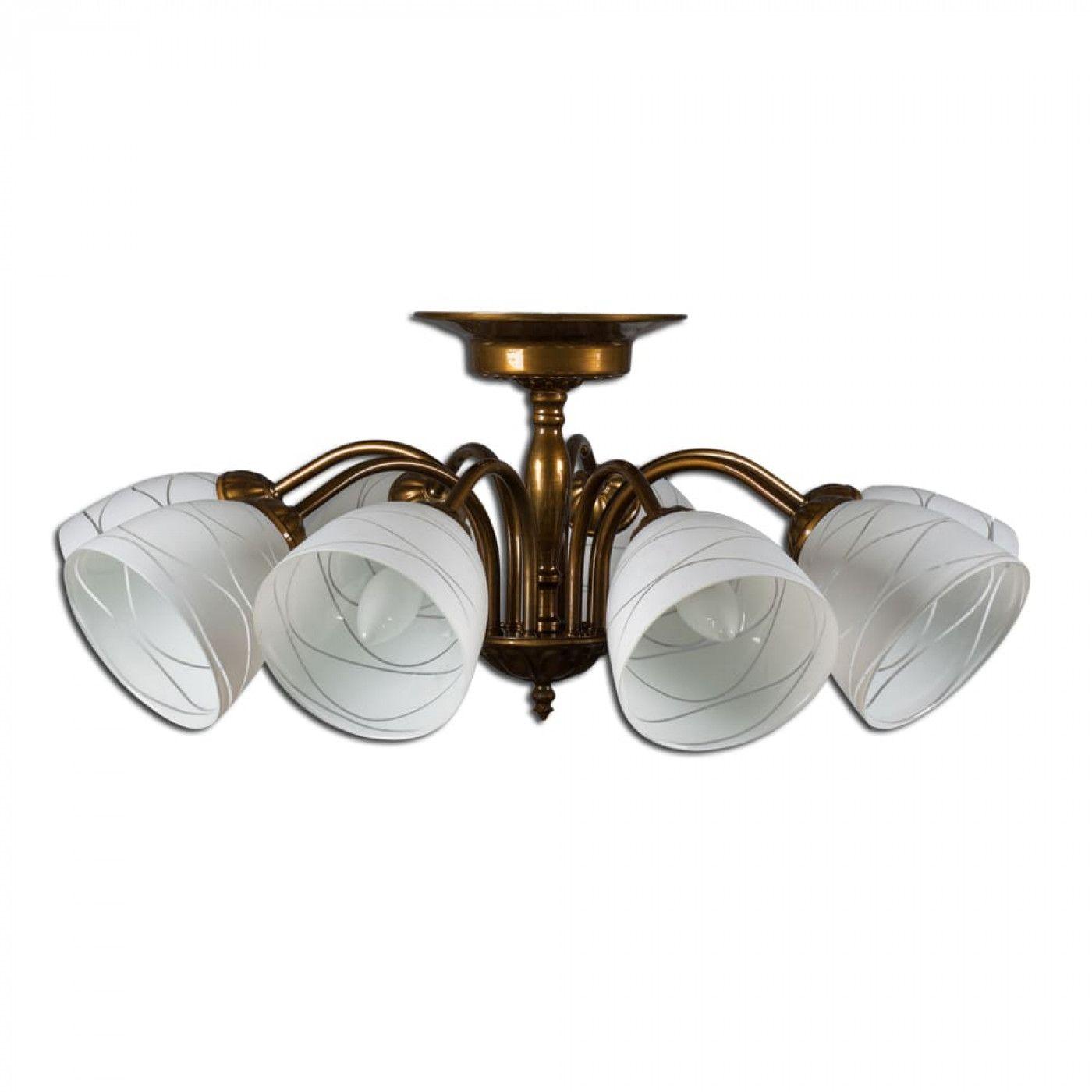 PETRASVET / Ceiling chandelier S2117-8, 8xE14 max. 60W