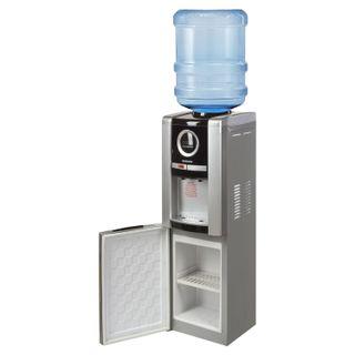 SONNEN FEB-02 water cooler, floor, WATER/WARNING, cabinet, 2 taps, silver/black