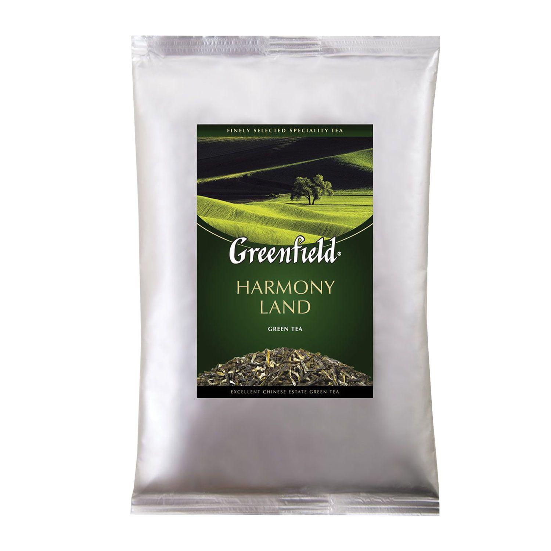 GREENFIELD / Harmony Land green tea, leaf, packet 250 g