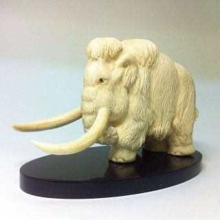 Mammoth souvenir from mammoth tusk