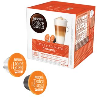 Capsules for NESCAFE Dolce Gusto coffee machines