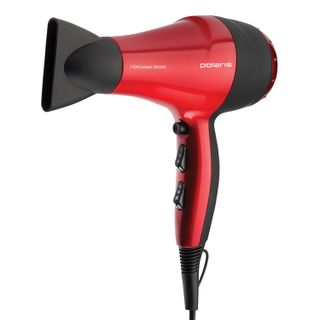 Hairdryer POLARIS PHD 2077i, 2000 watts, 2 speed, 3 temperature, ionization, red