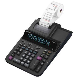 Calculator printing CASIO DR-320RE (377х255 mm), 14 digits, mains supply, black