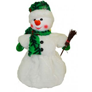 """New Year's gift Snowman """"Snowball"""" + a set of sweets 750g."""